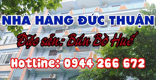 Nhà hàng Đức Thuận - Đặc sản Bún Bò Huế