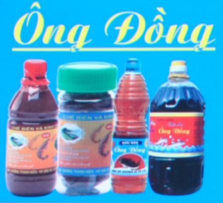 Cơ sở sản xuất mắm cốt làng chài Ông Đồng