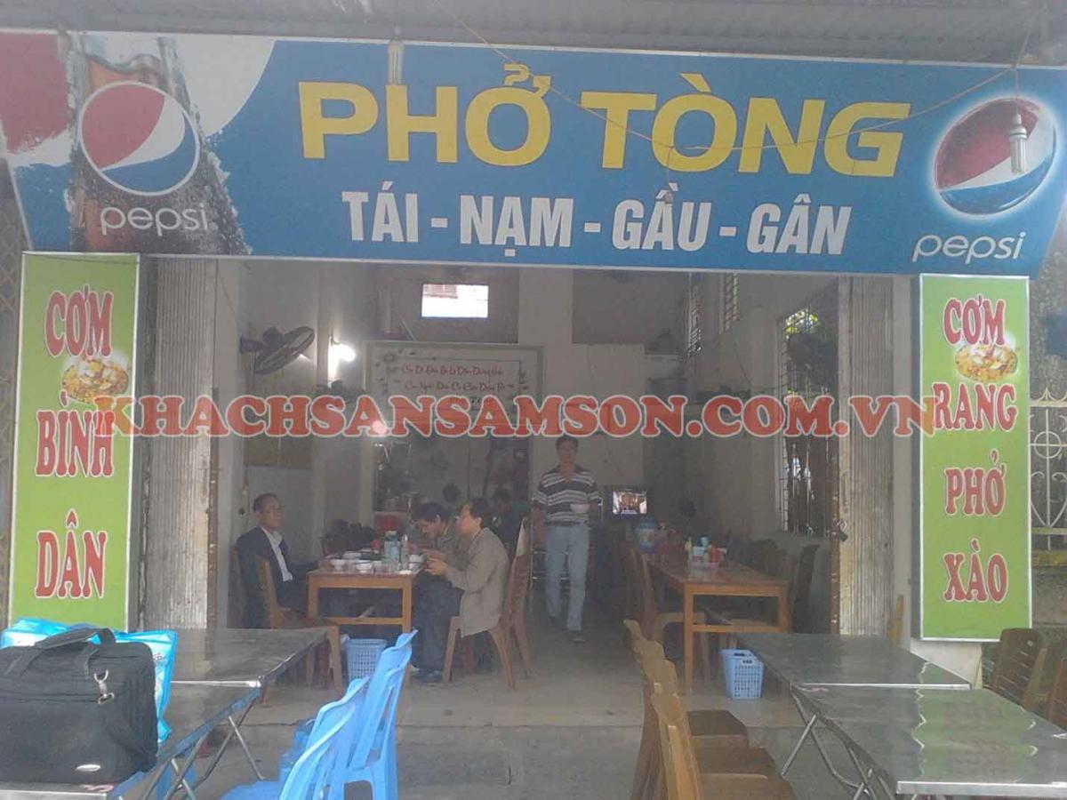 Nhà Hàng Phở Tòng - Ẩm thực Sầm Sơn
