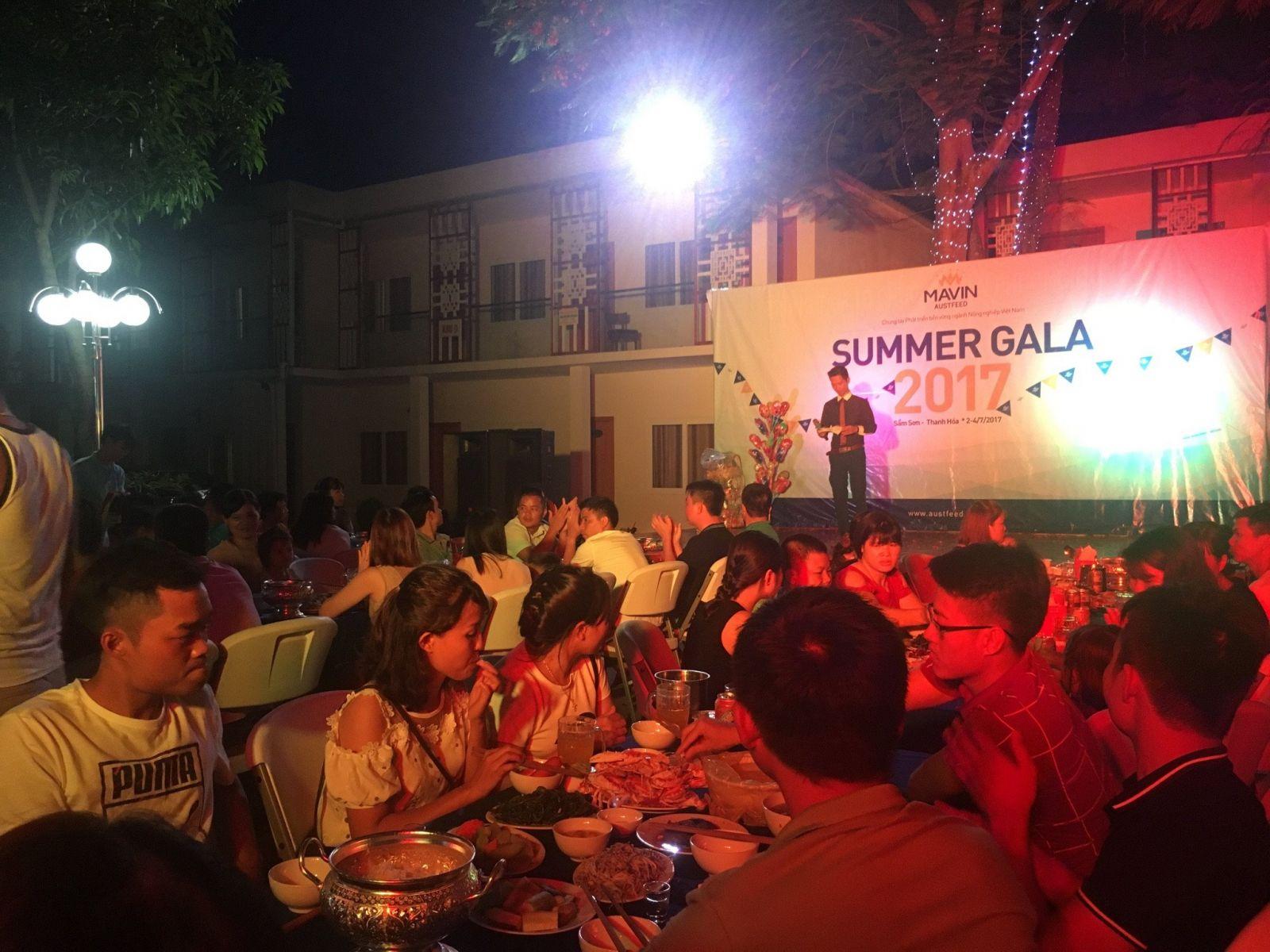Đêm Gala dinner 2017 - Đêm của những nụ cười